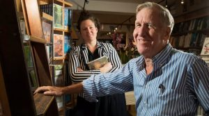 Sally Tabner and Ray Bonner Bookoccino