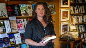Sally Tabner at Bookoccino