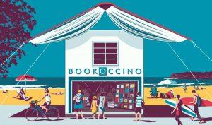 Bookoccino Avalon bookshop graphic