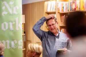 David Sanger Event at Bookoccino Bookstore Avalon