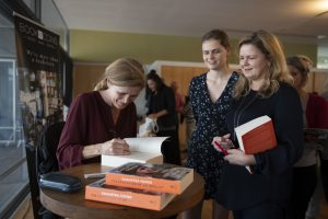 Samantha Power at Bookoccino event
