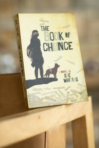 Sue Whiting Bookoccino Book of Chance Young Adult Book review bookshop