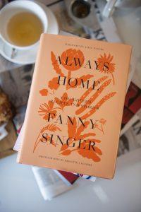 fanny singer always home alice waters book memoir
