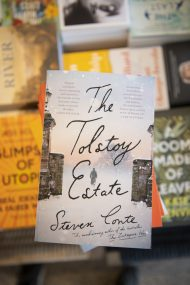 tolstoy estate steven conte Fiction New Fiction