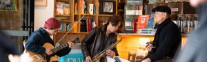 live music bookoccino live music bookoccino jazz blues books wine coffee Friday Sunday culture northern beaches