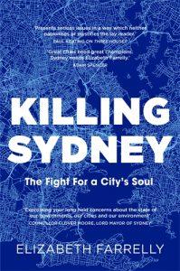 Killing Sydney Elizabeth Farrelly book cover